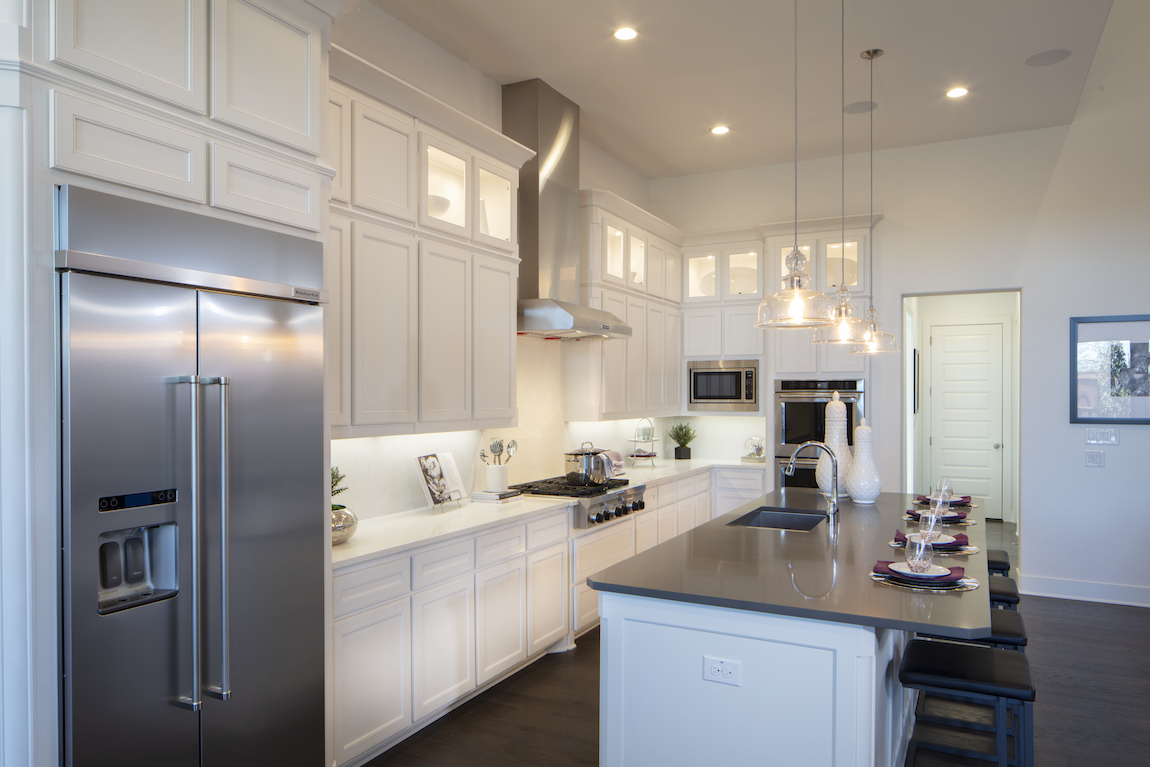 Kitchen in a New Construction Home in Ridgeview Crossing