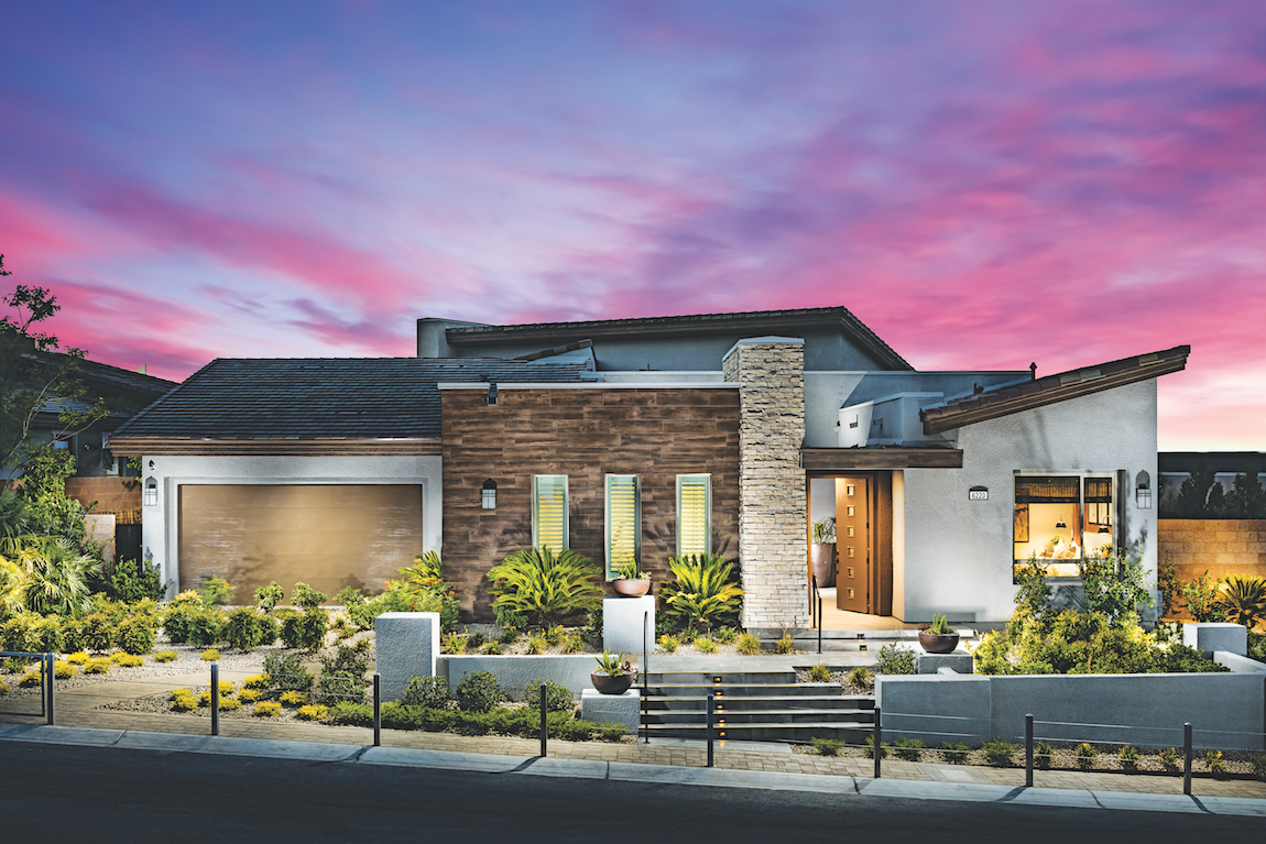 Modern Home in a Toll Brothers Community in Summerlain, NV