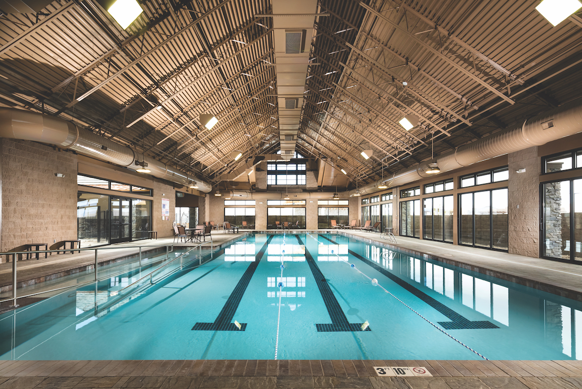 Indoor pool at Regency at Damonte Ranch.