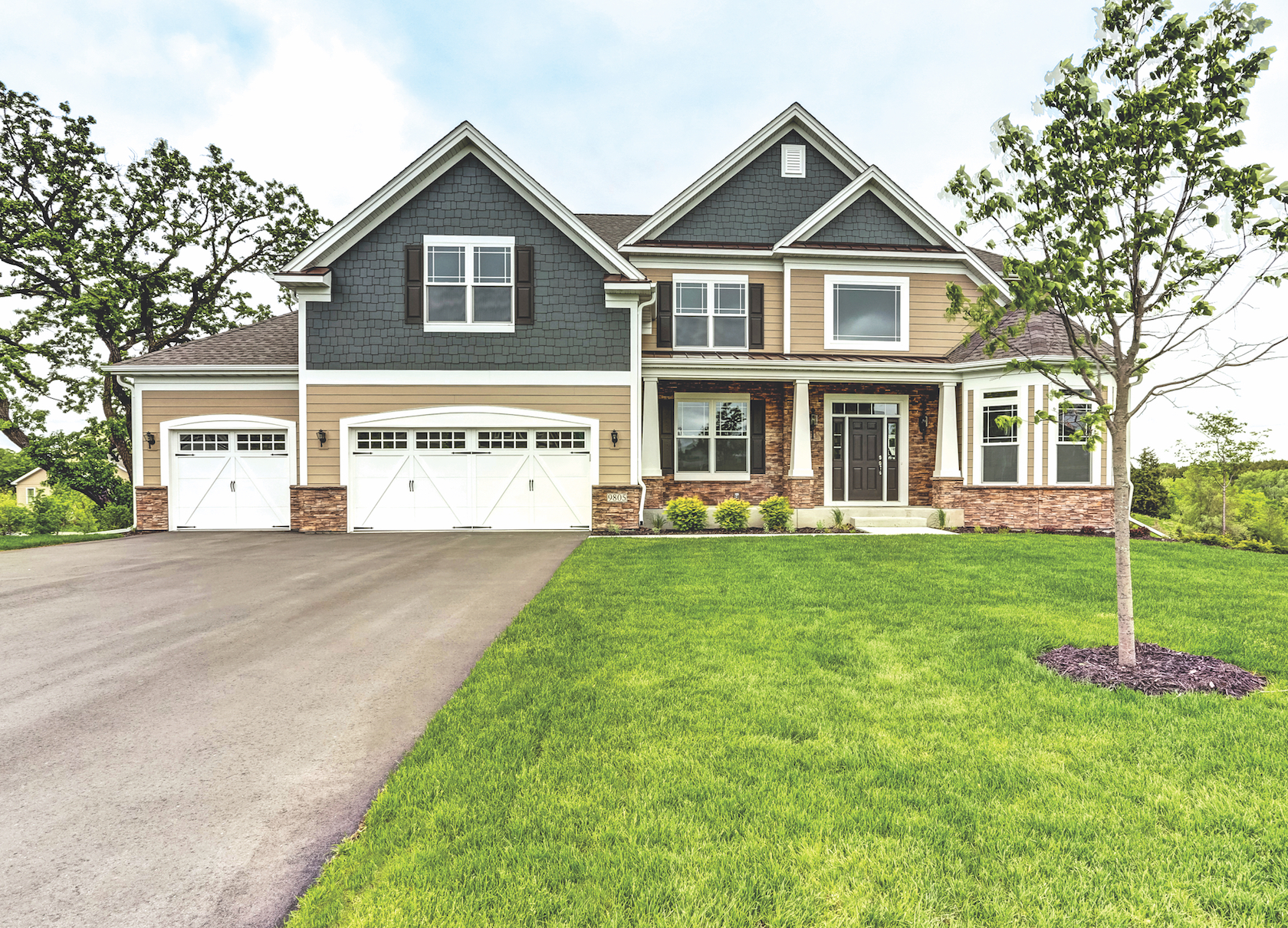Toll Brothers house in Minnesota