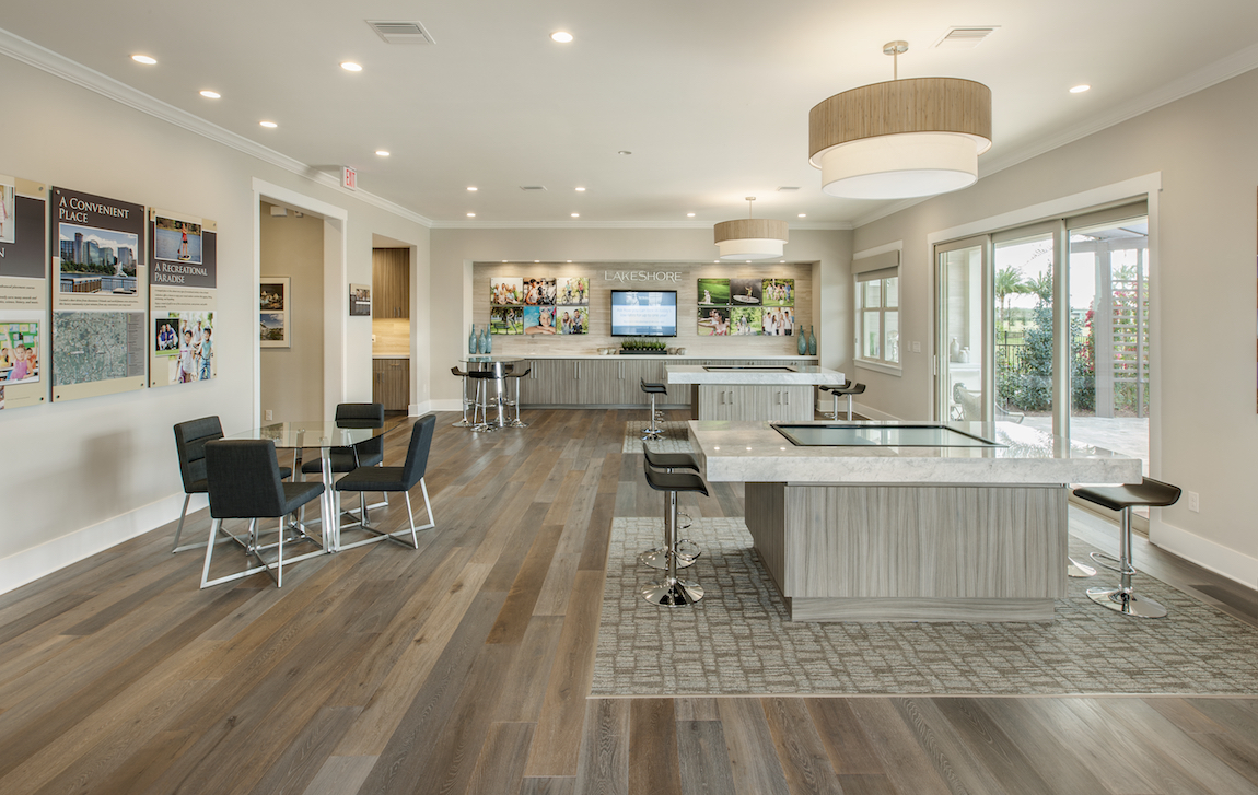 Toll Brothers sales center in Florida