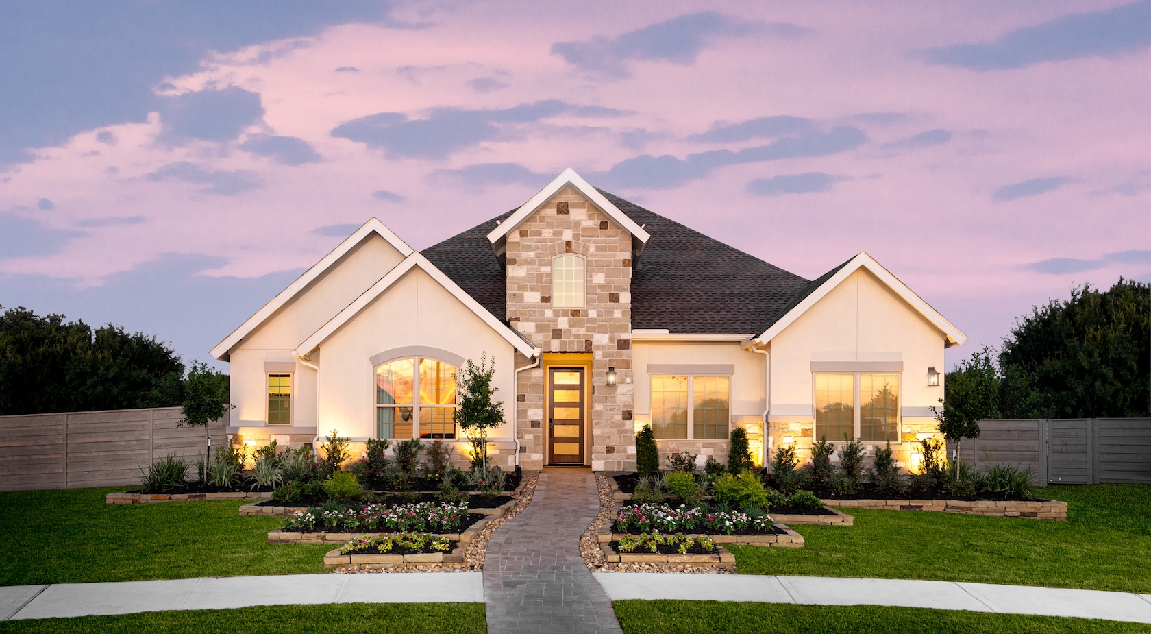 Toll Brothers home in Pomona, Texas