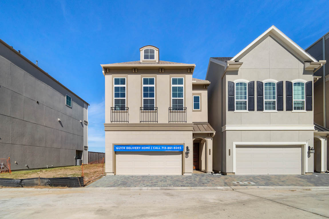 Toll Brothers Quick Delivery Home in Somerset Green, Texas