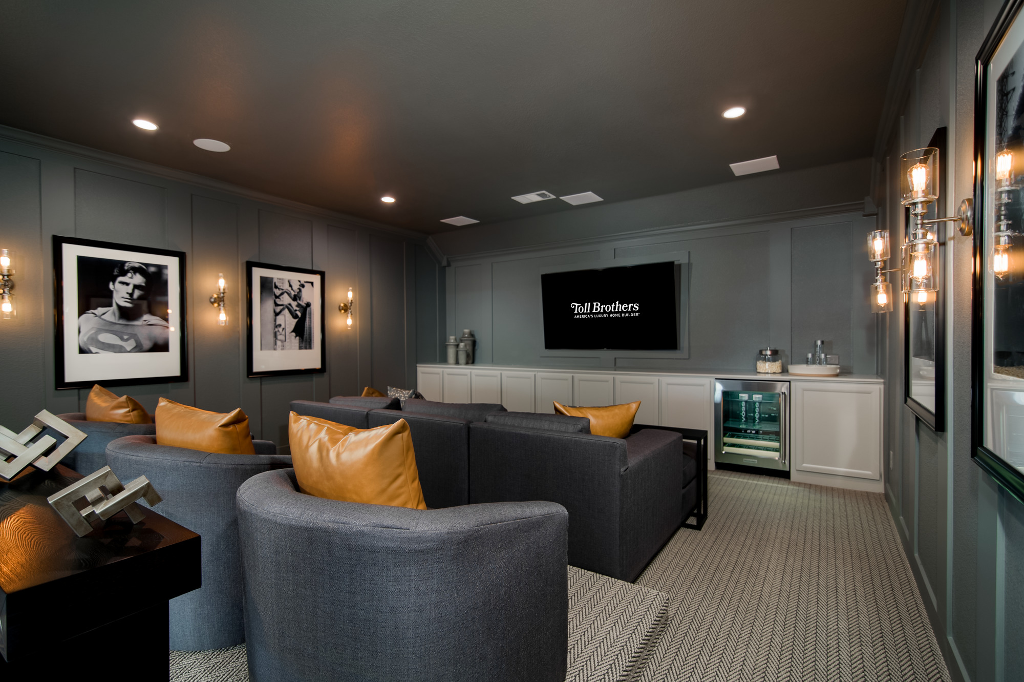 A home theater