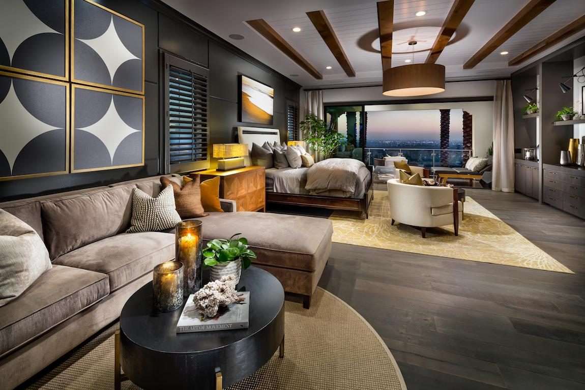 Bedroom suite designed for multigenerational living.