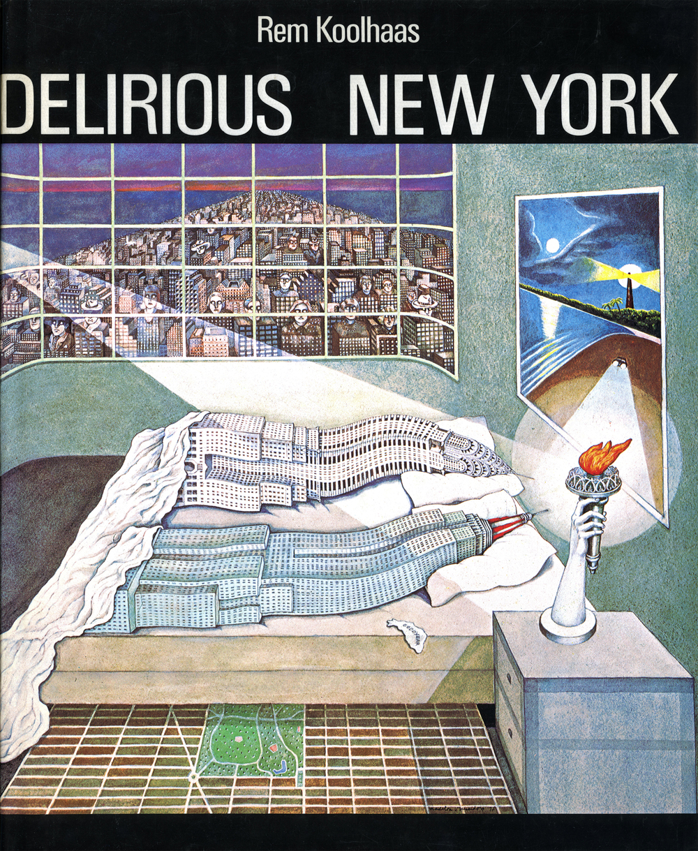 Delirious New York Cover
