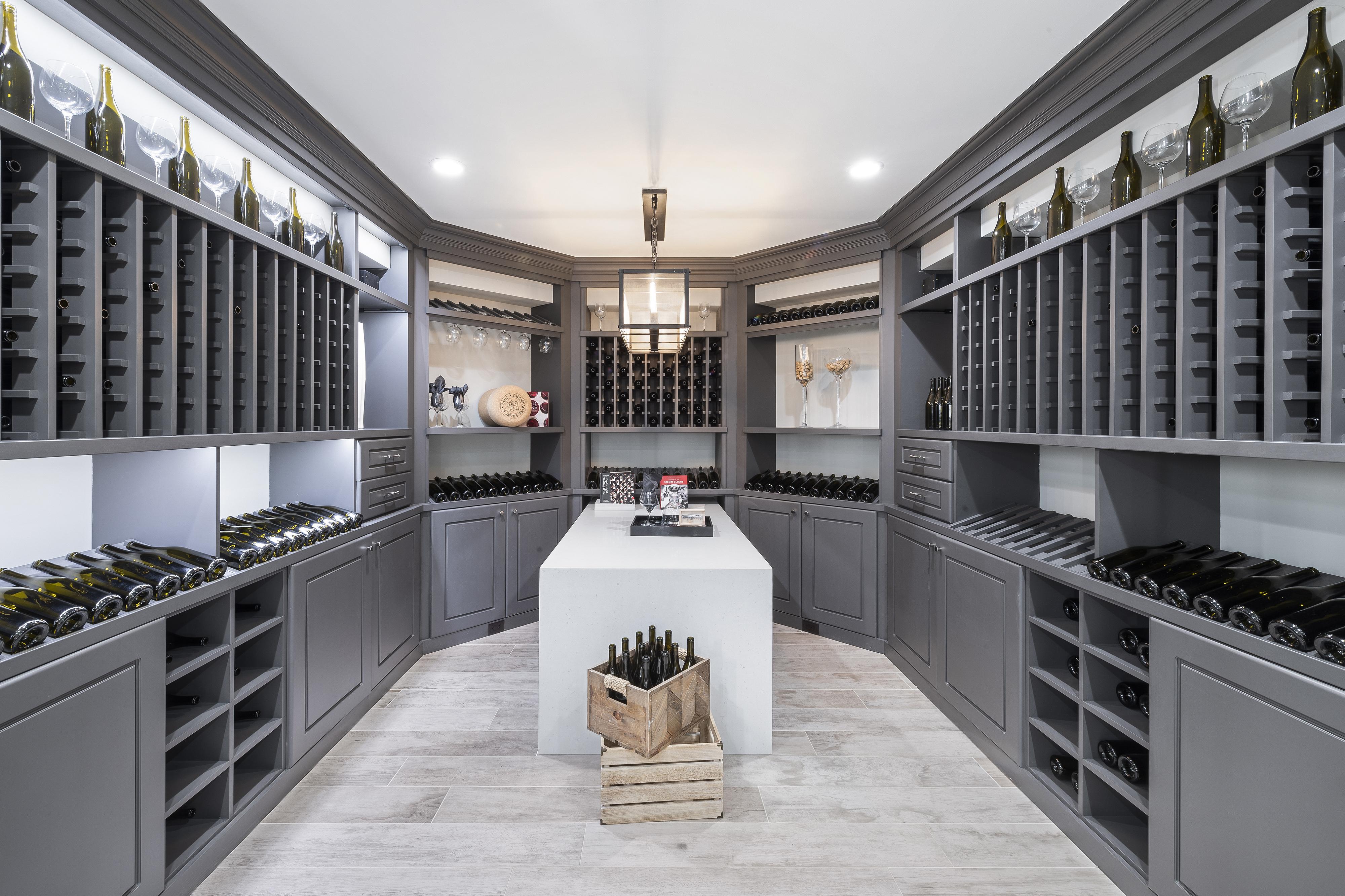 Wine Cellar Designed to Showcase Fine Wine