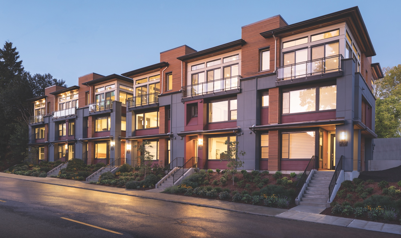Luxury Townhomes in McGraw Square at Queen Anne