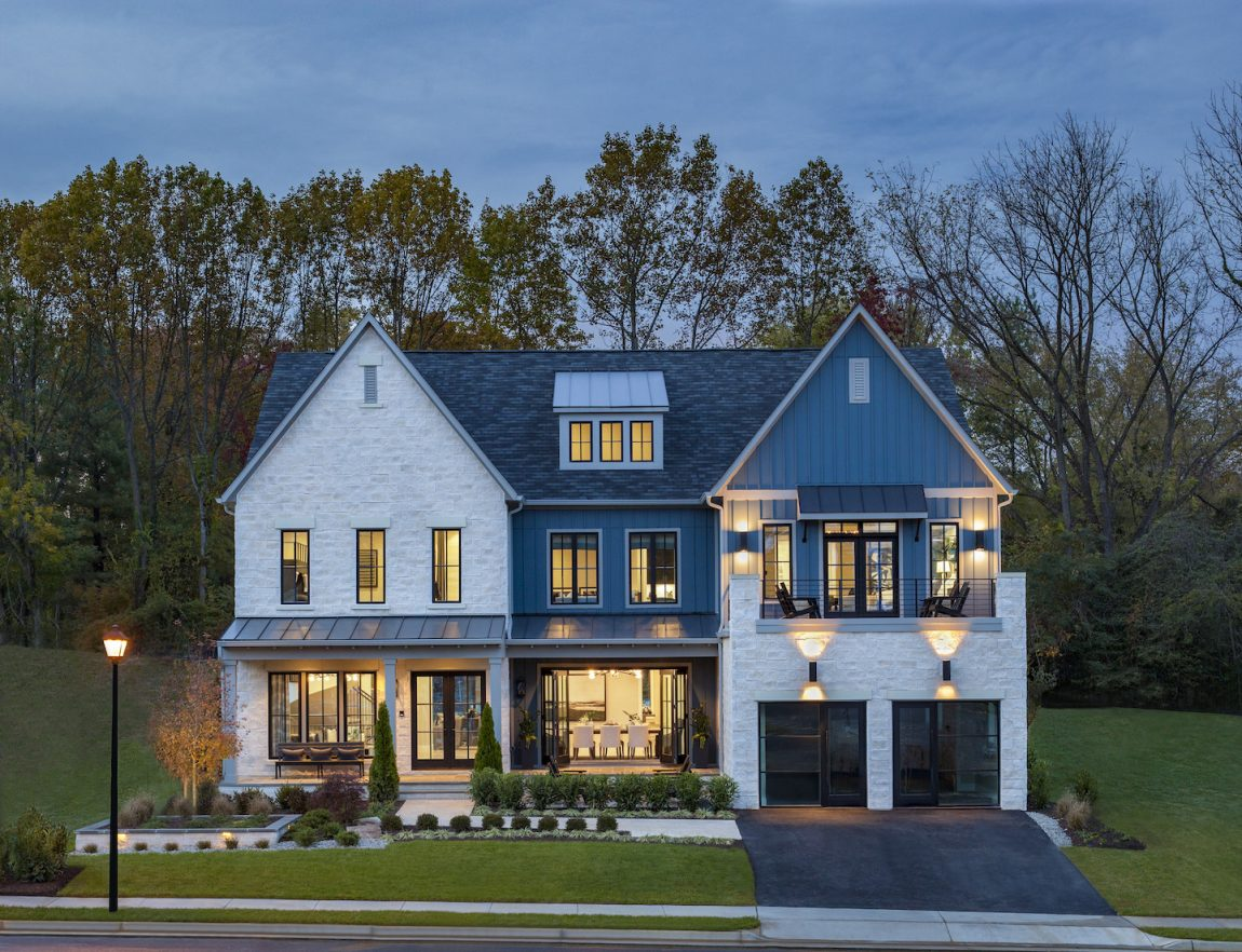 Suburban house in Virginia.