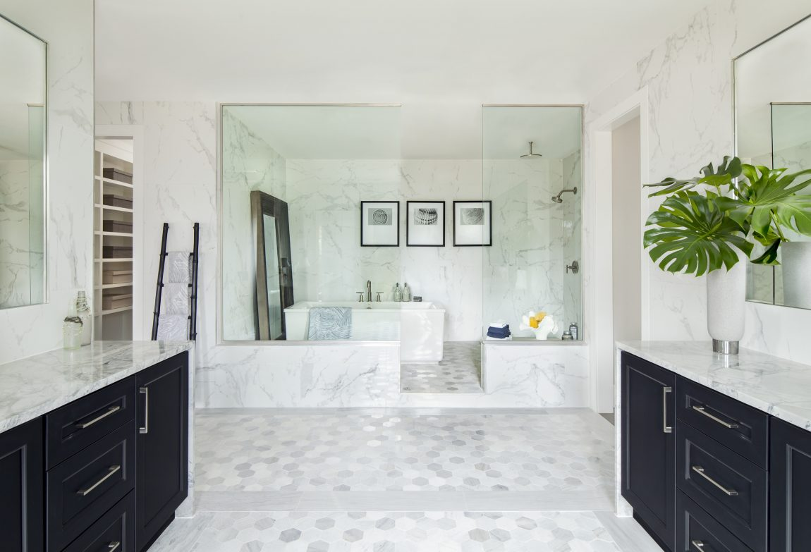 Master Bathroom with Luxurious Wet Room