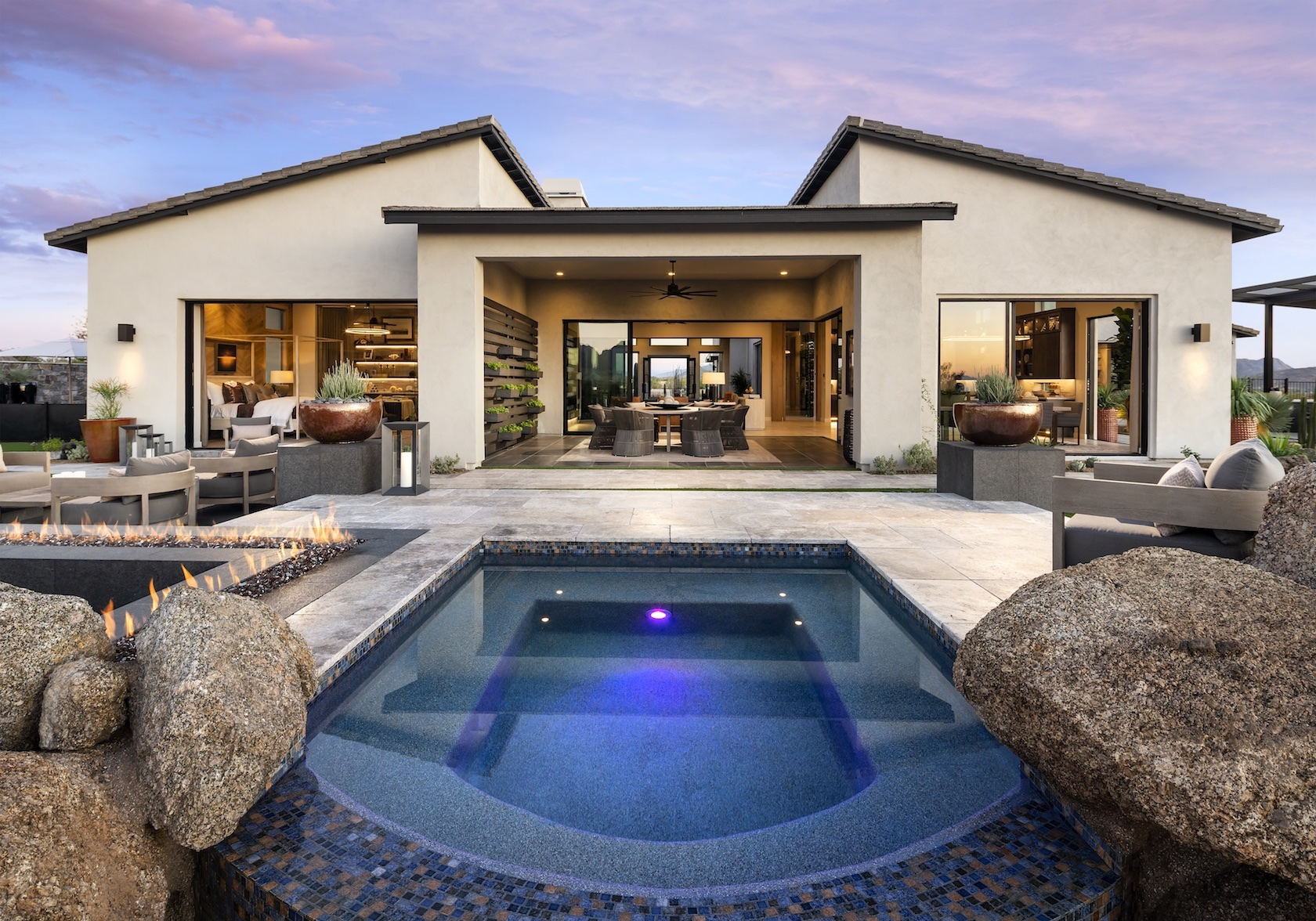 Contemporary home in Arizona