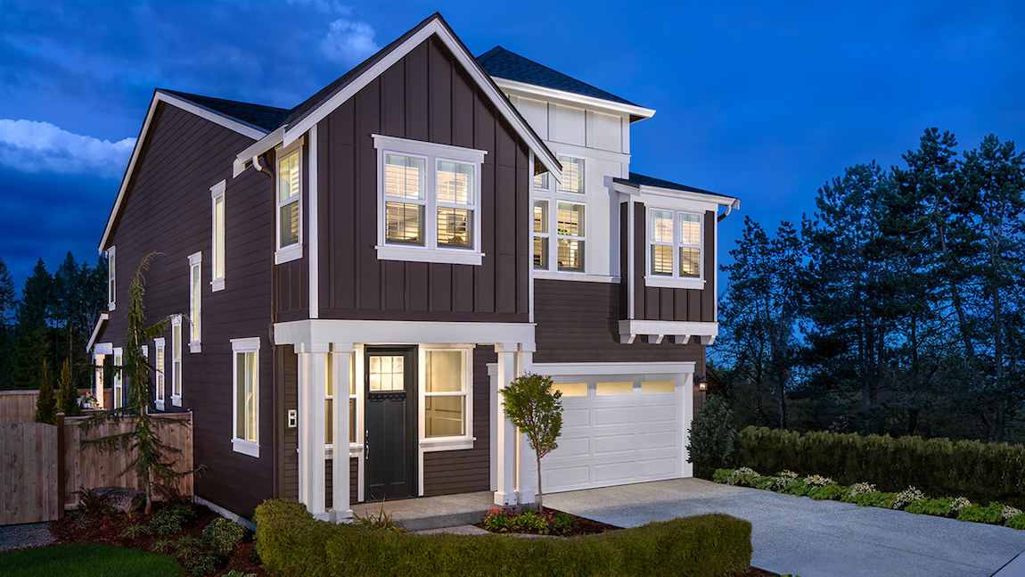 Well-built Pacific Northwest exterior