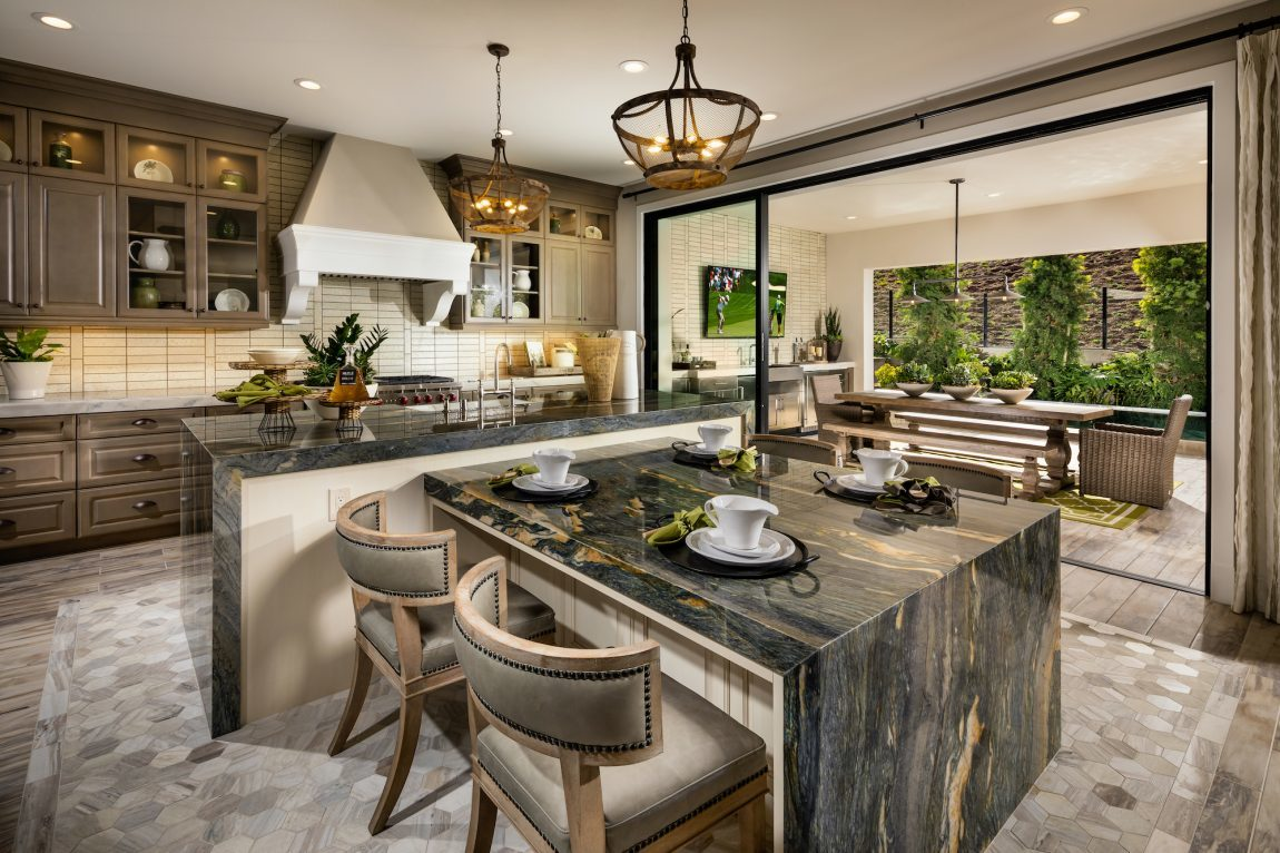 kitchen layout island 5 double island kitchen ideas for your custom home 9114