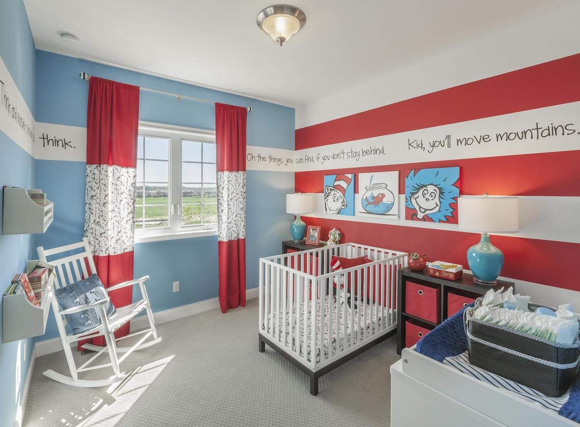 Dr. Seuss themed bedroom desifgn
