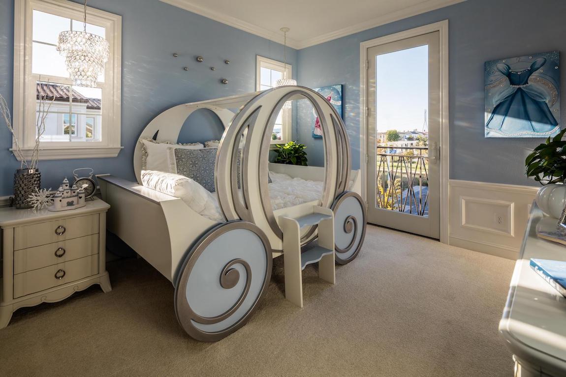 Disney, fairytale Cinderella themed girl's room