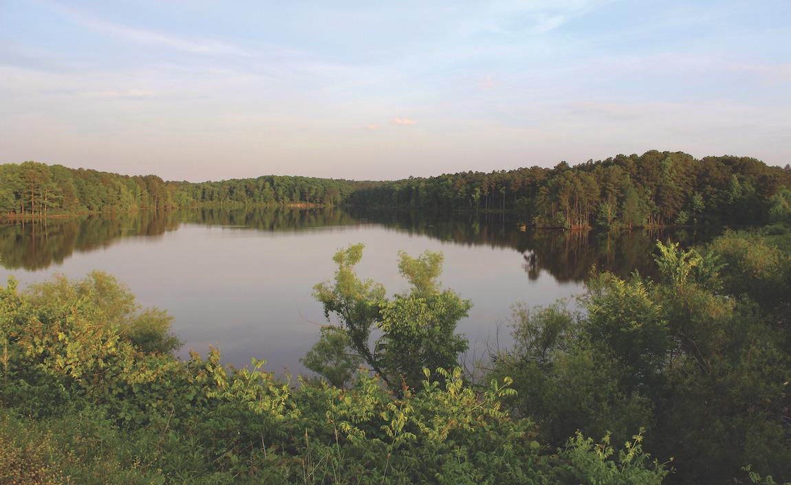 Jordan Lake, located in New Hill, NC