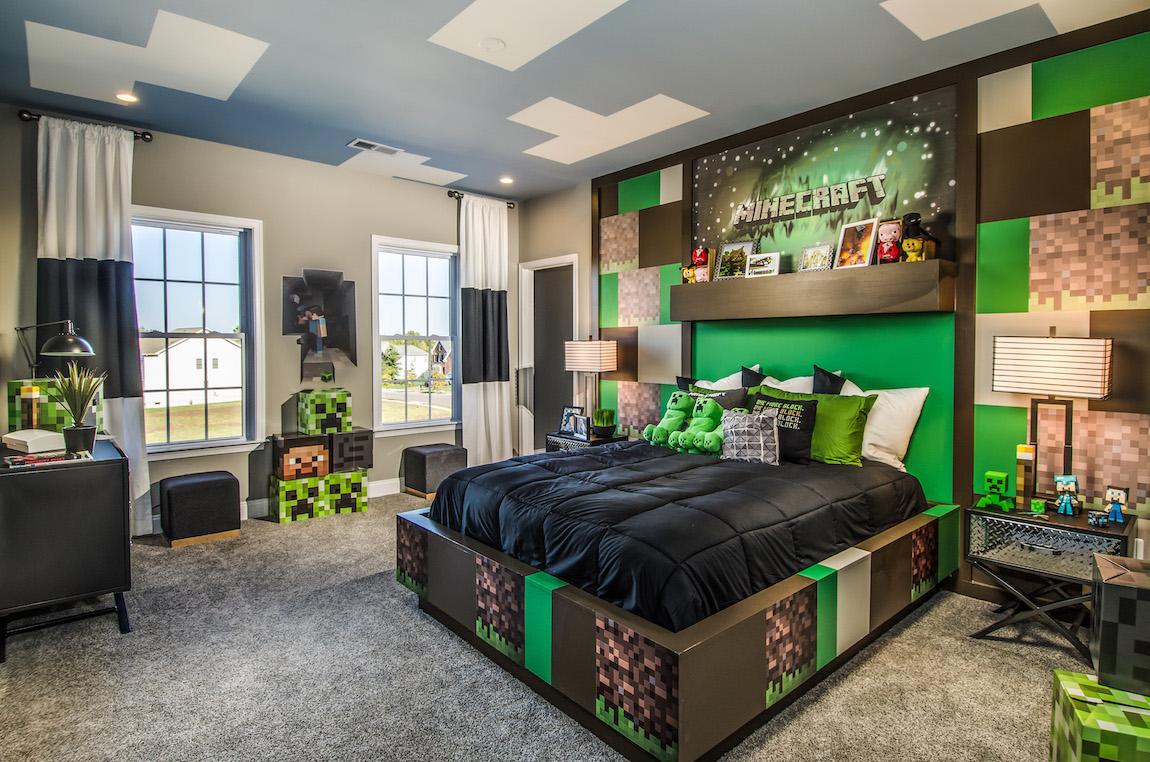 A gamer's bedroom design