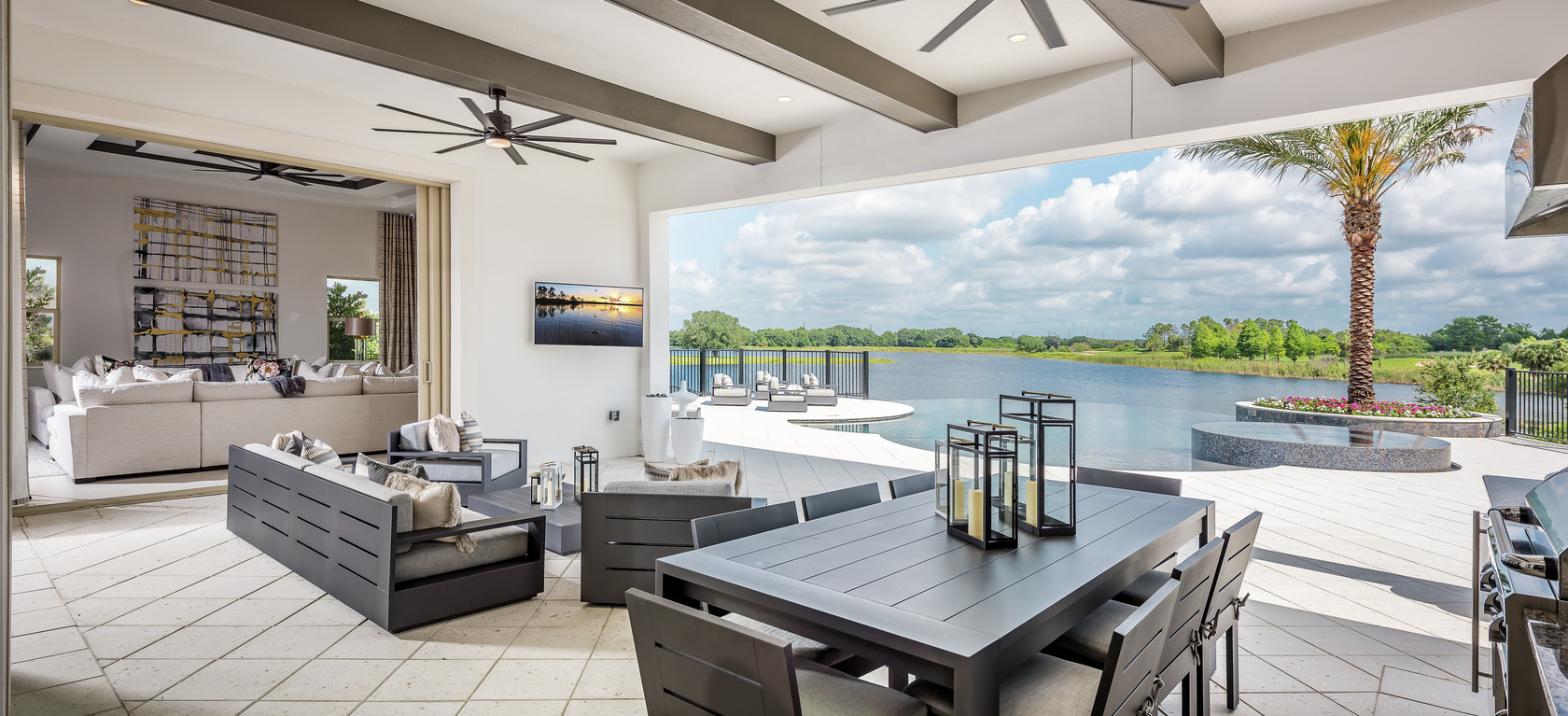 Indoor Outdoor Living Space Ideas to Inspire Your Home Design on Enclosed Outdoor Living Spaces id=15095