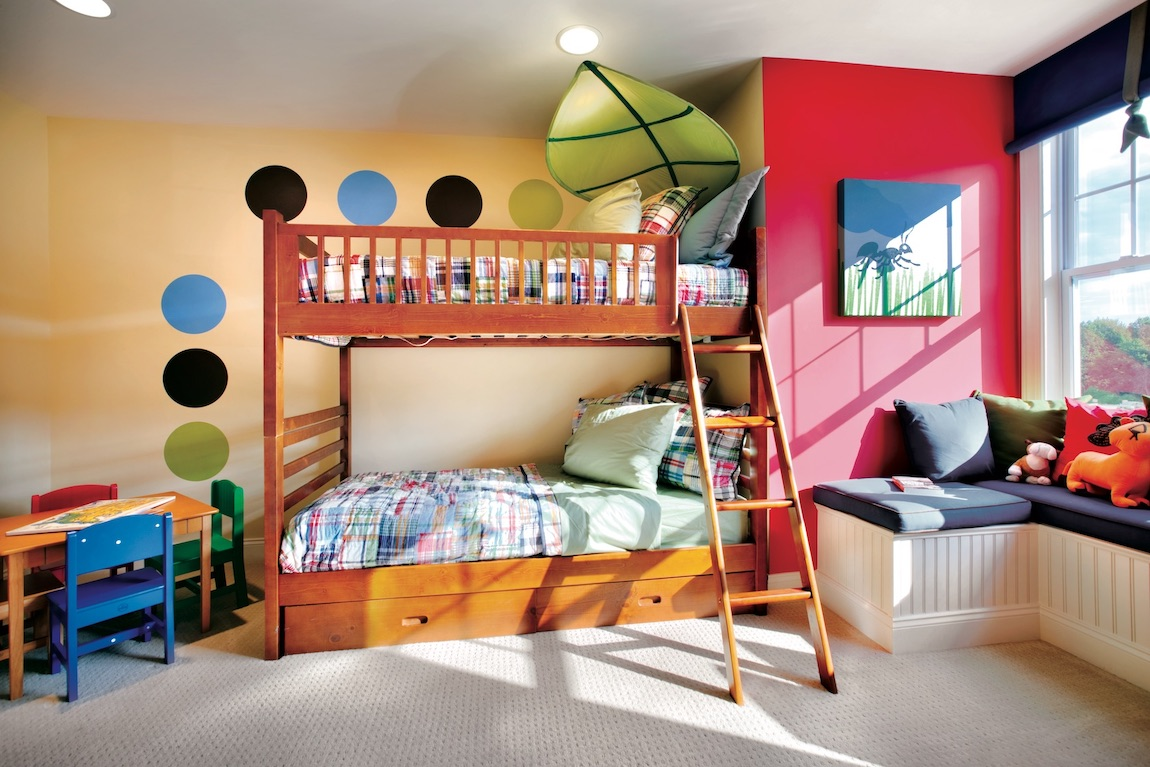 Creative ant themed bedroom idea