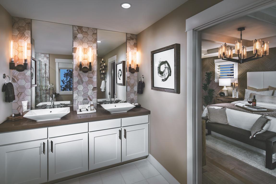 Luxe bathroom design