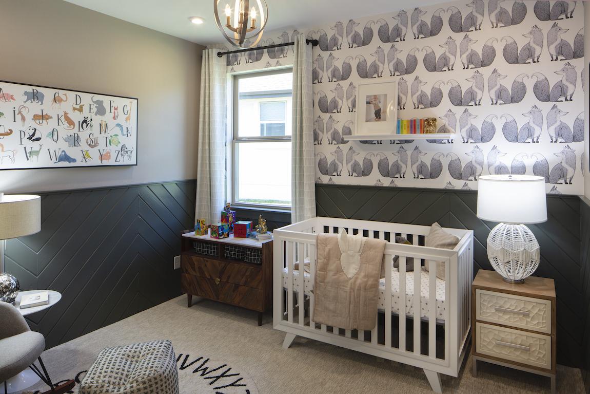 Bonus room nursery
