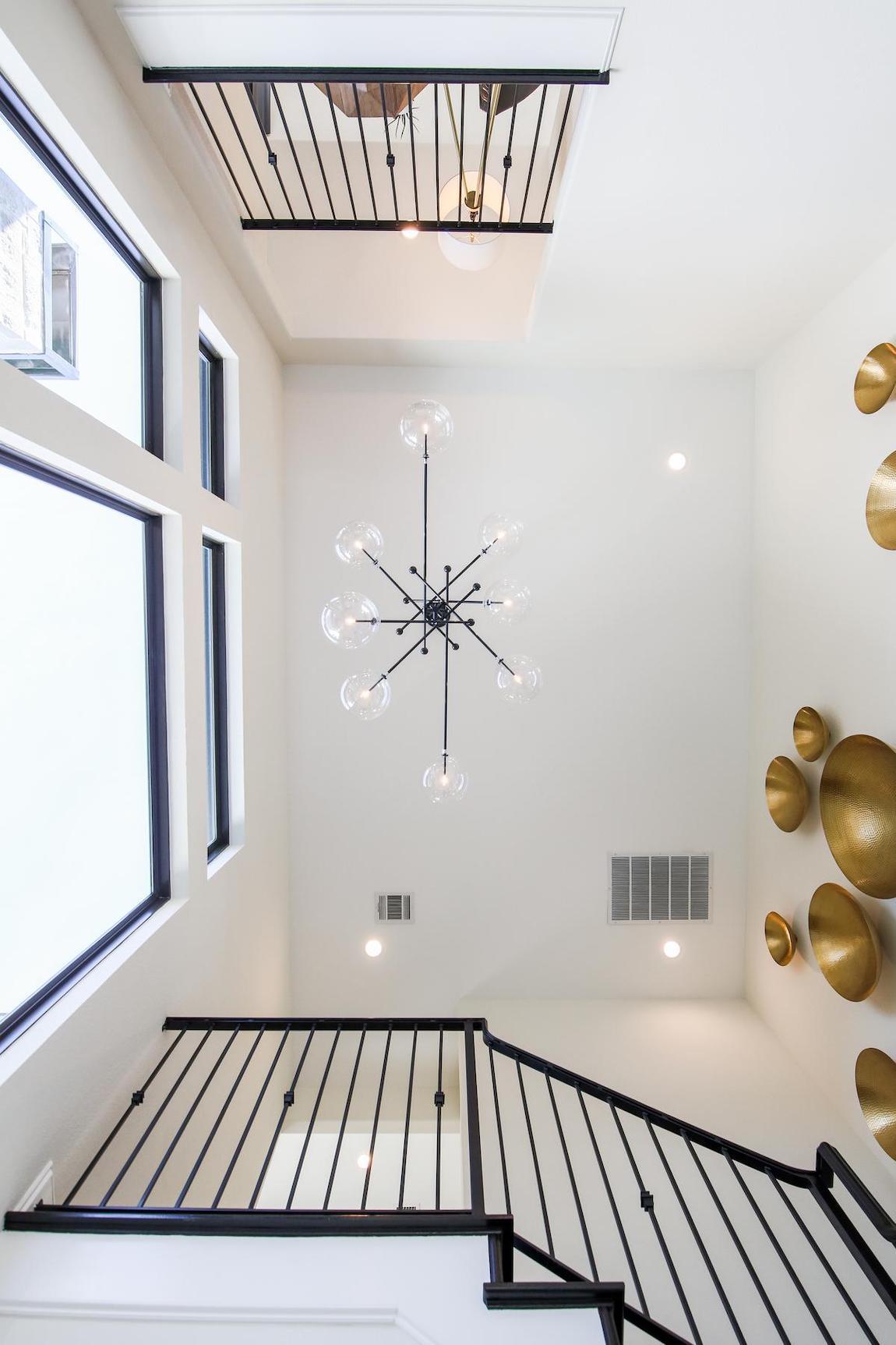 Glass globe pendant lighting