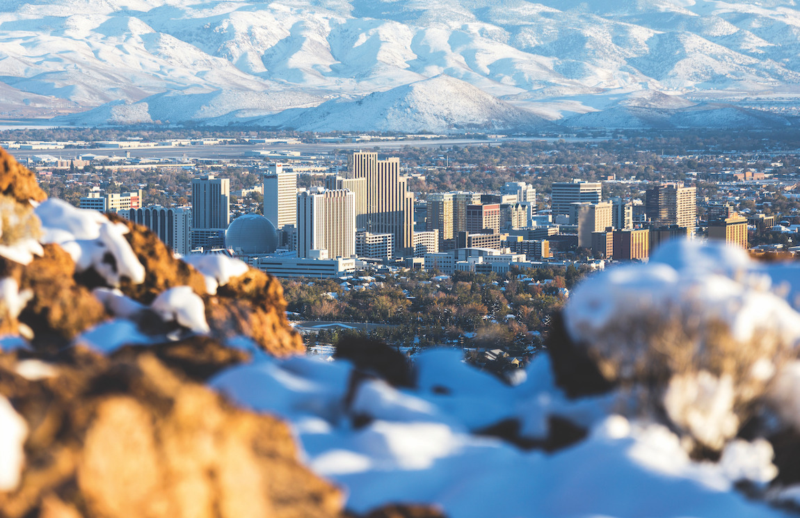 View of Reno's city limits