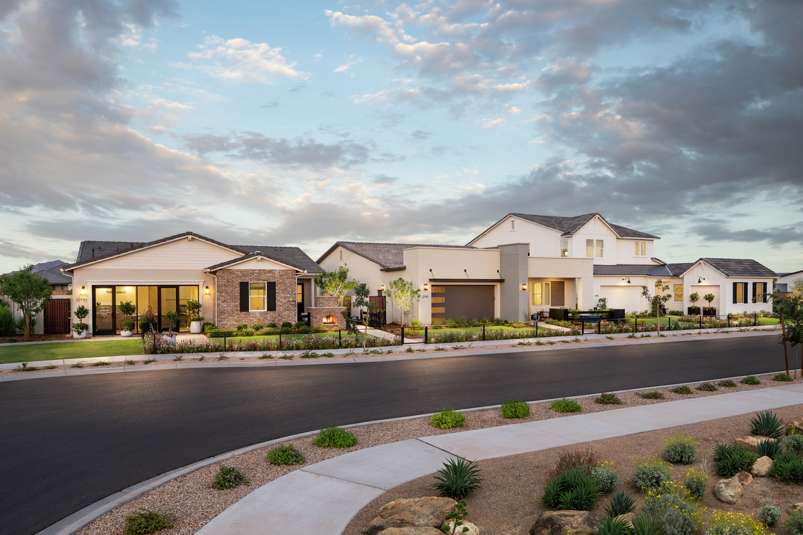 A streetscape that introduces luxury in Arizona