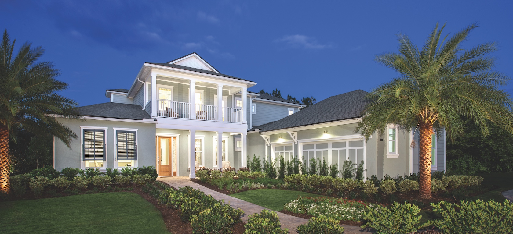 Toll Brothers Westbrook model in Coastal Oaks at Nocatee community