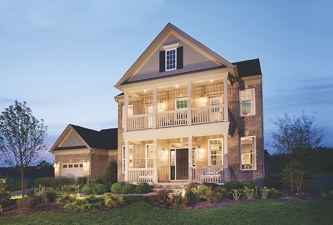 Toll Brothers model home at Bowes Creek Country Club.