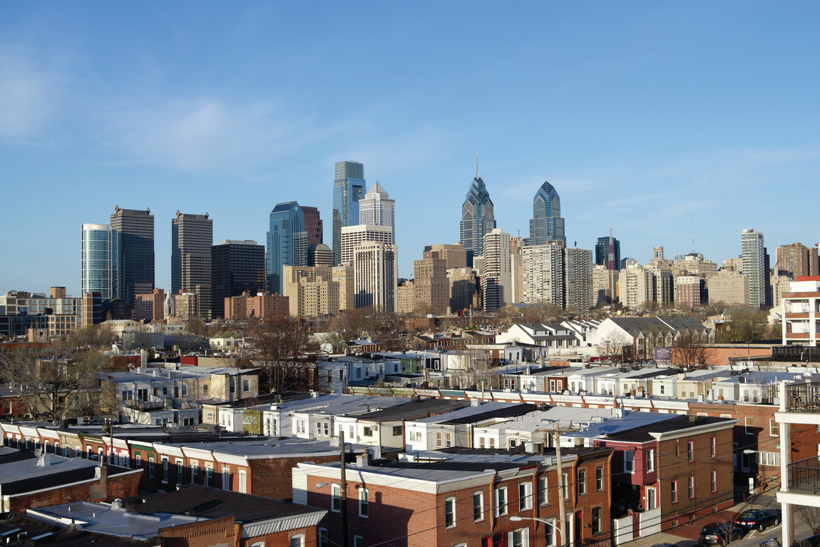 View from living in Philadelphia