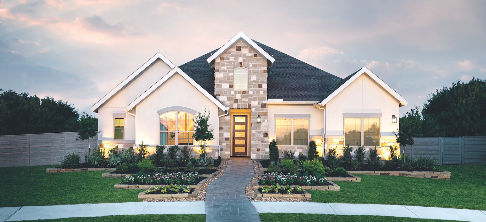Toll Brothers Model Home in Dallas Texas