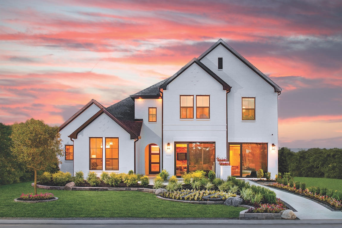 Toll Brothers Langdon model home in Houston