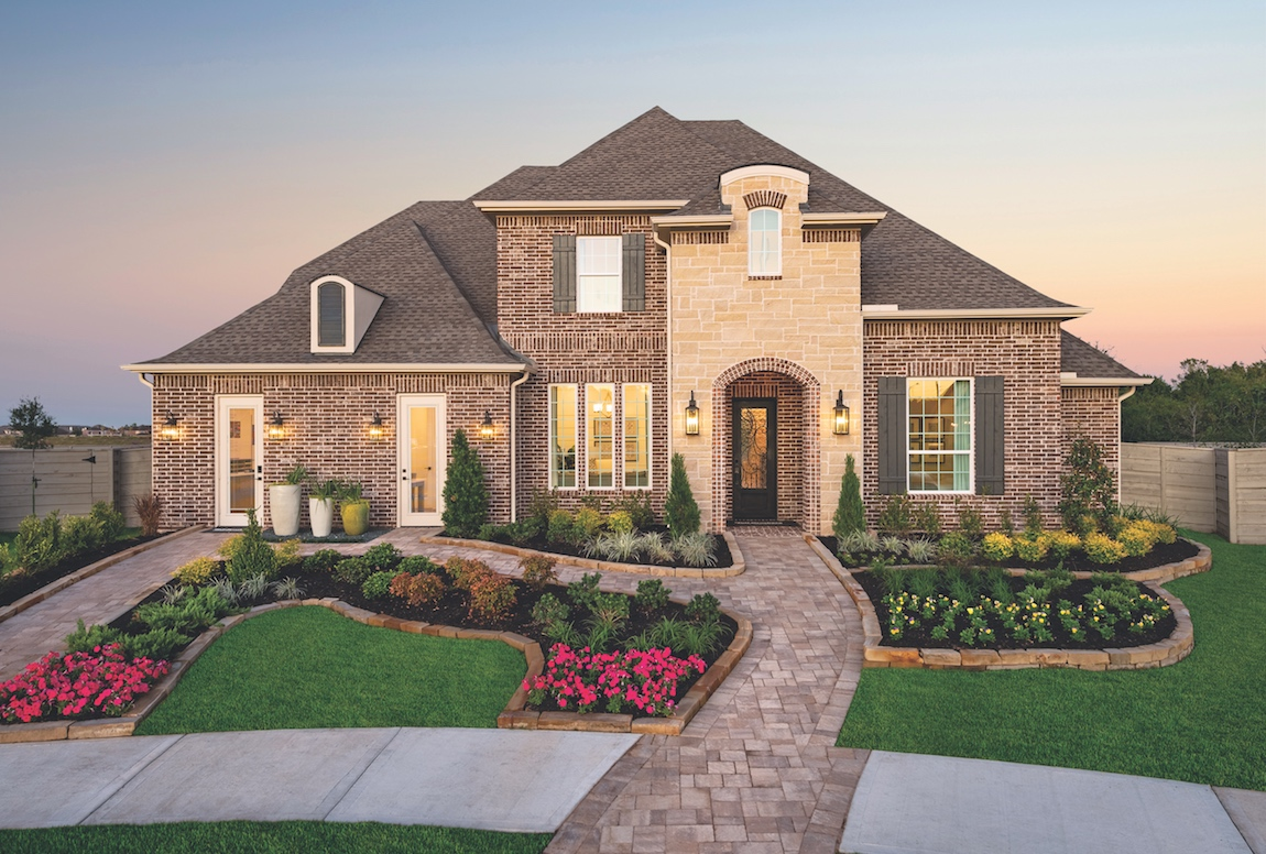 Toll Brothers Fairholm model home in Houston