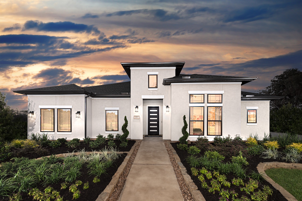 Toll Brothers Draper model home in Houston