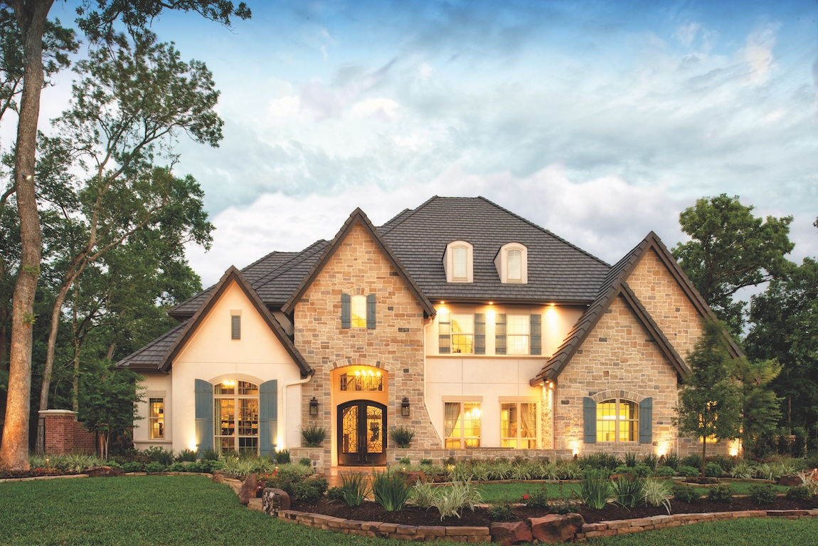 Toll Brothers Sandhaven model home in Houston