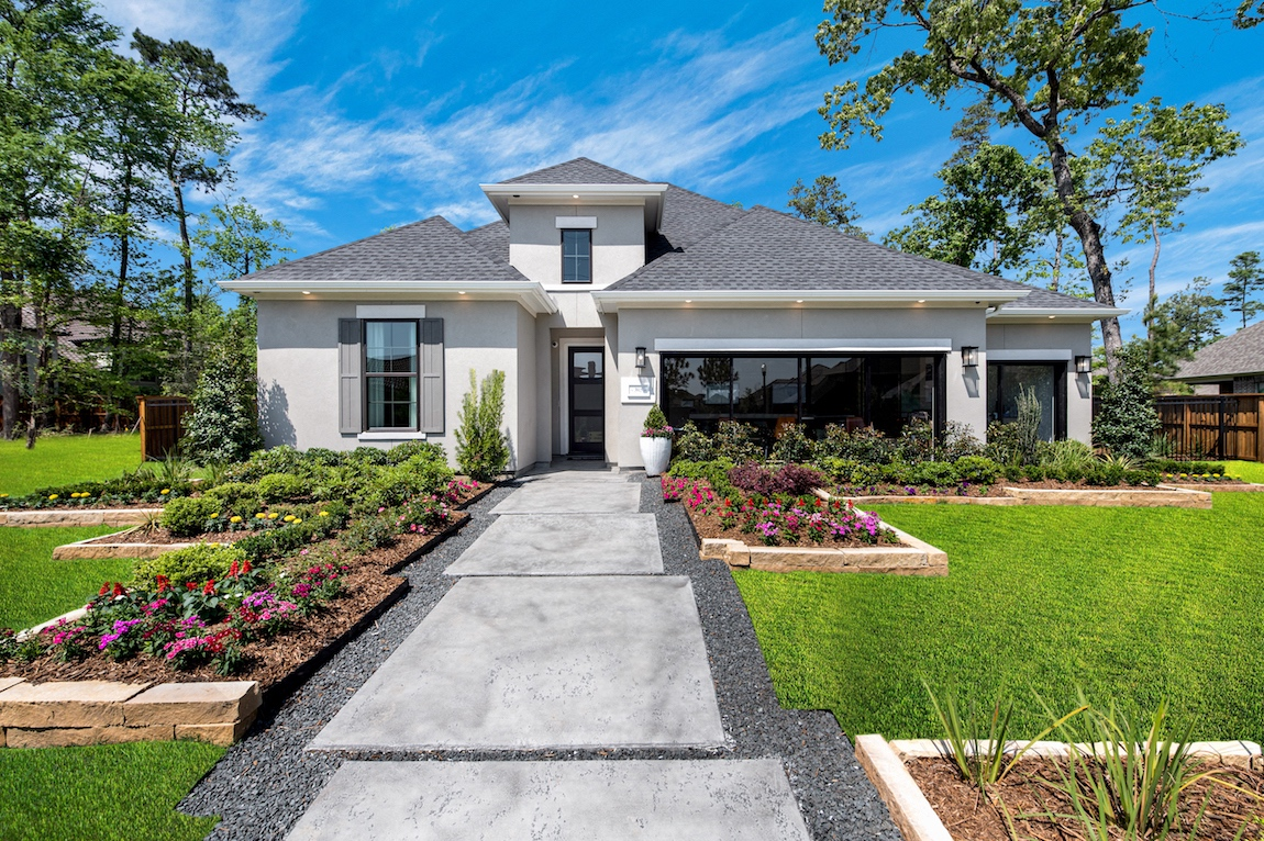 Toll Brothers Leighton model home in Houston