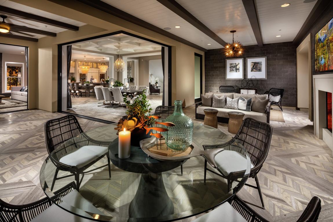 luxe outdoor room