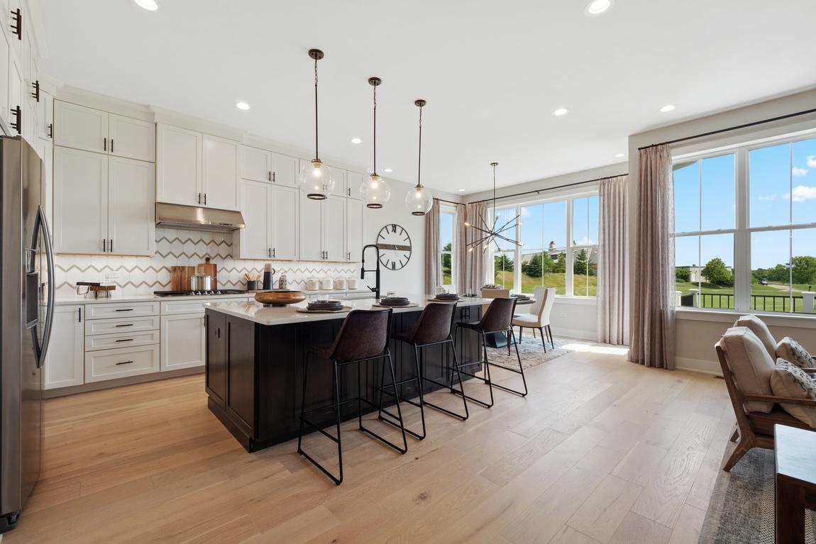expansive kitchen design