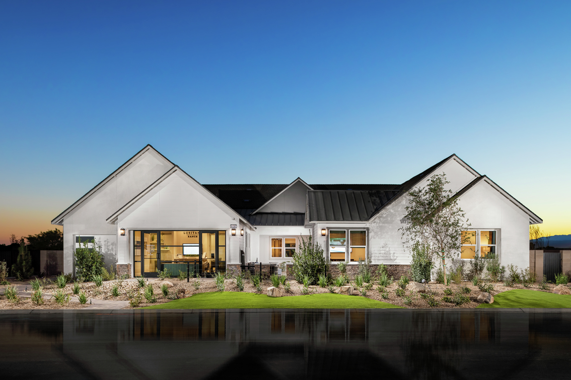 Ranch-style home