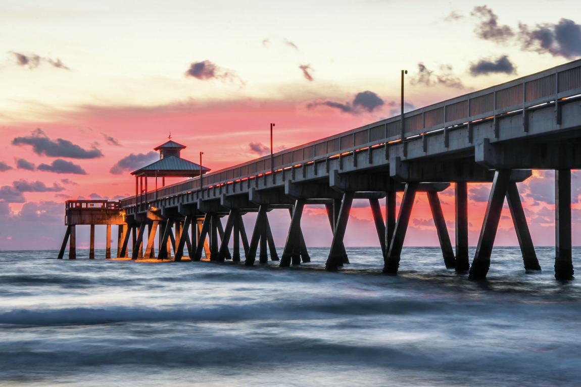 Fishing Pier in Southeast Florida