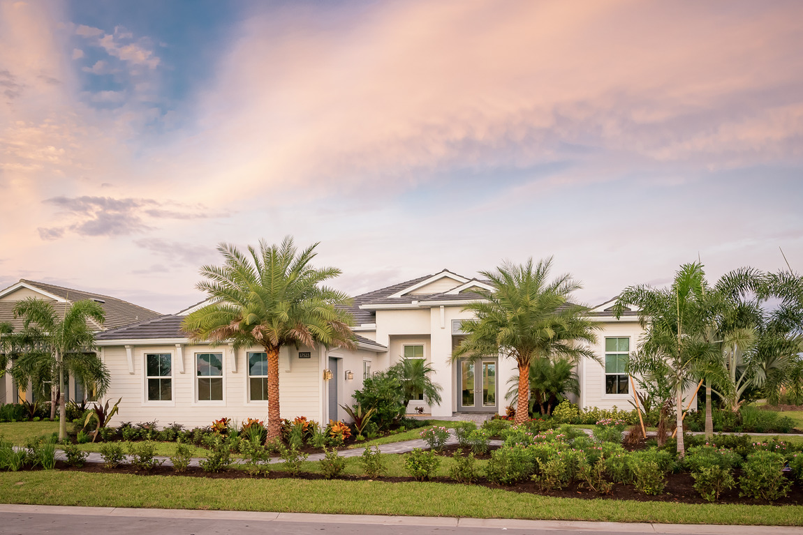 Luxe one-story home in Southeast Florida