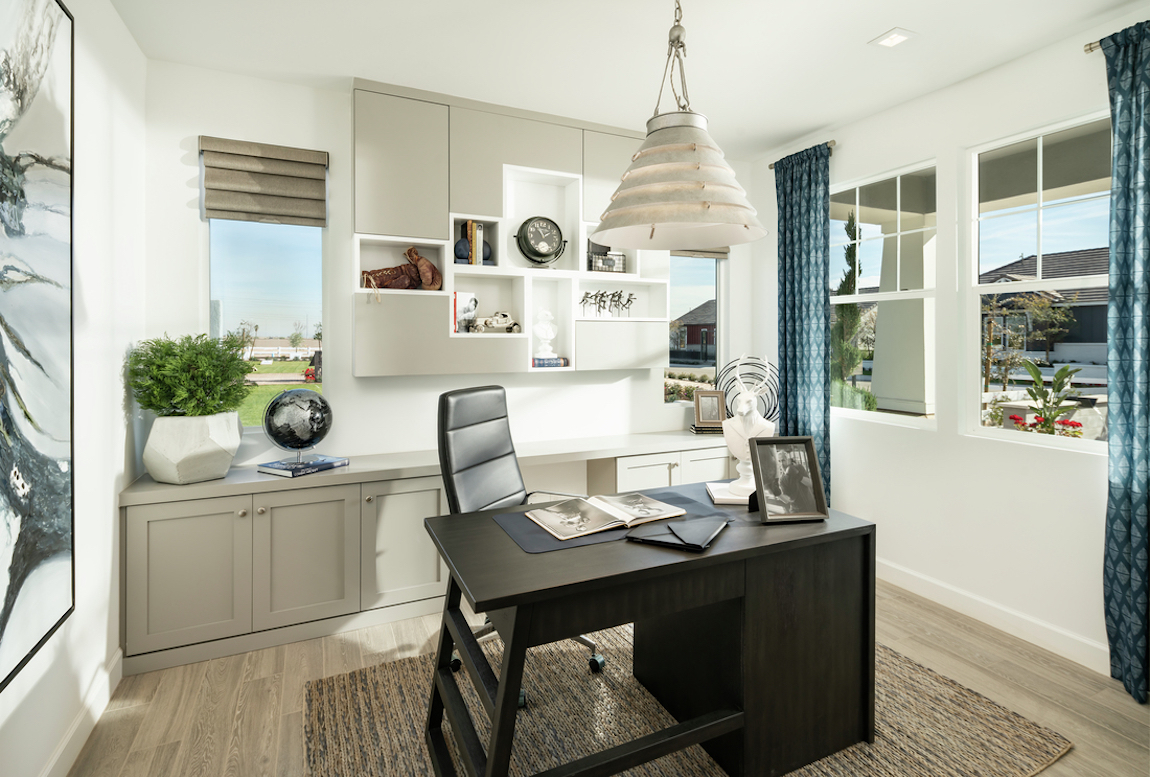 Bright and airy office design