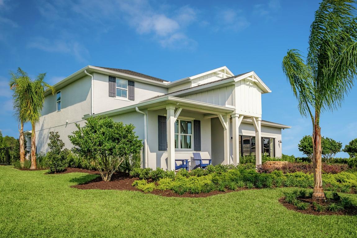 Modern home design in central Florida
