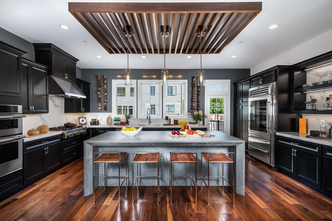 Luxe east coast kitchen design