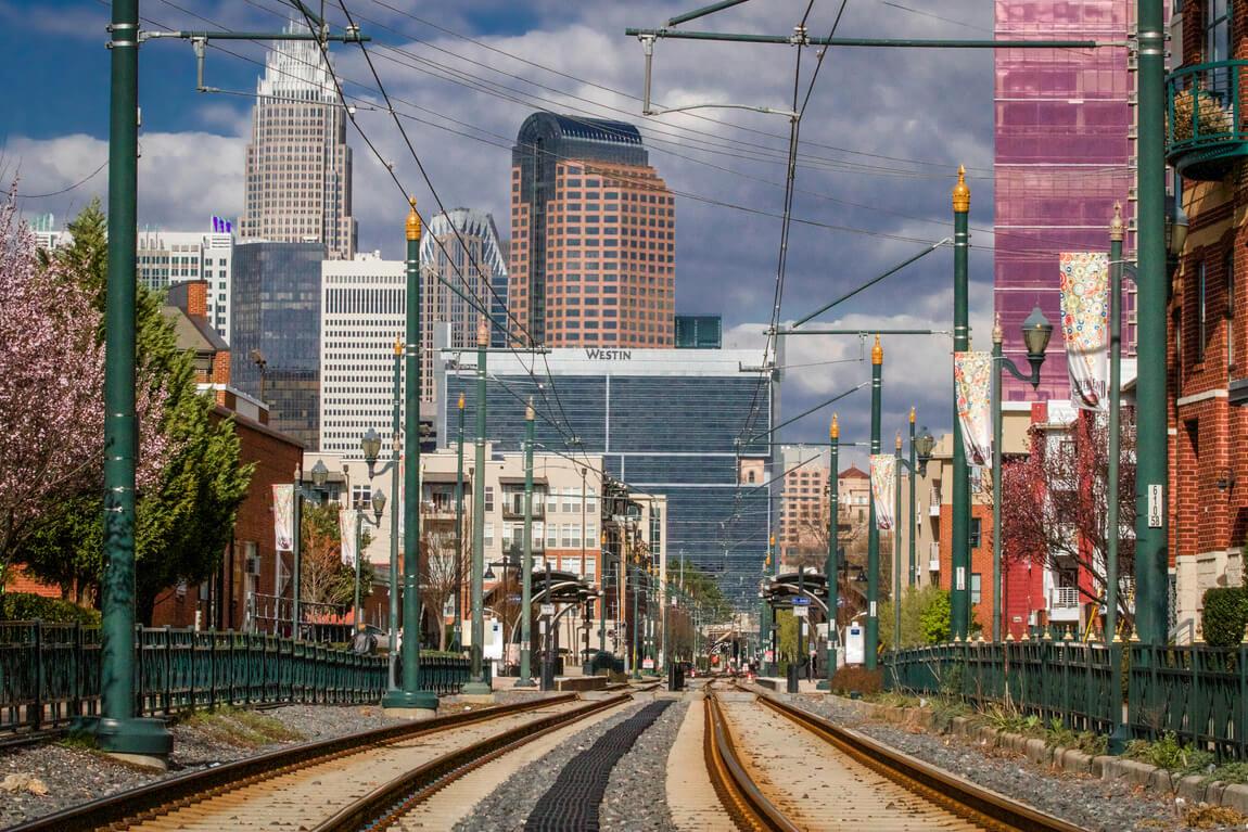 Railroad in Charlotte