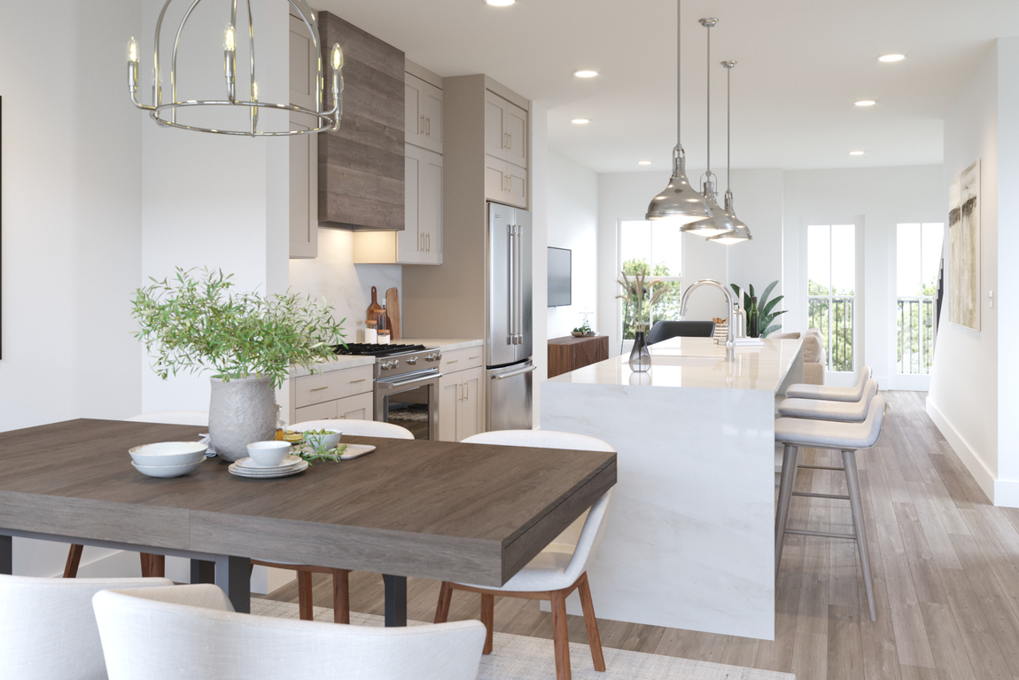 Luxe Townhome design