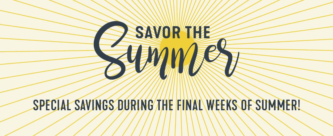 Savor the Summer August 2019