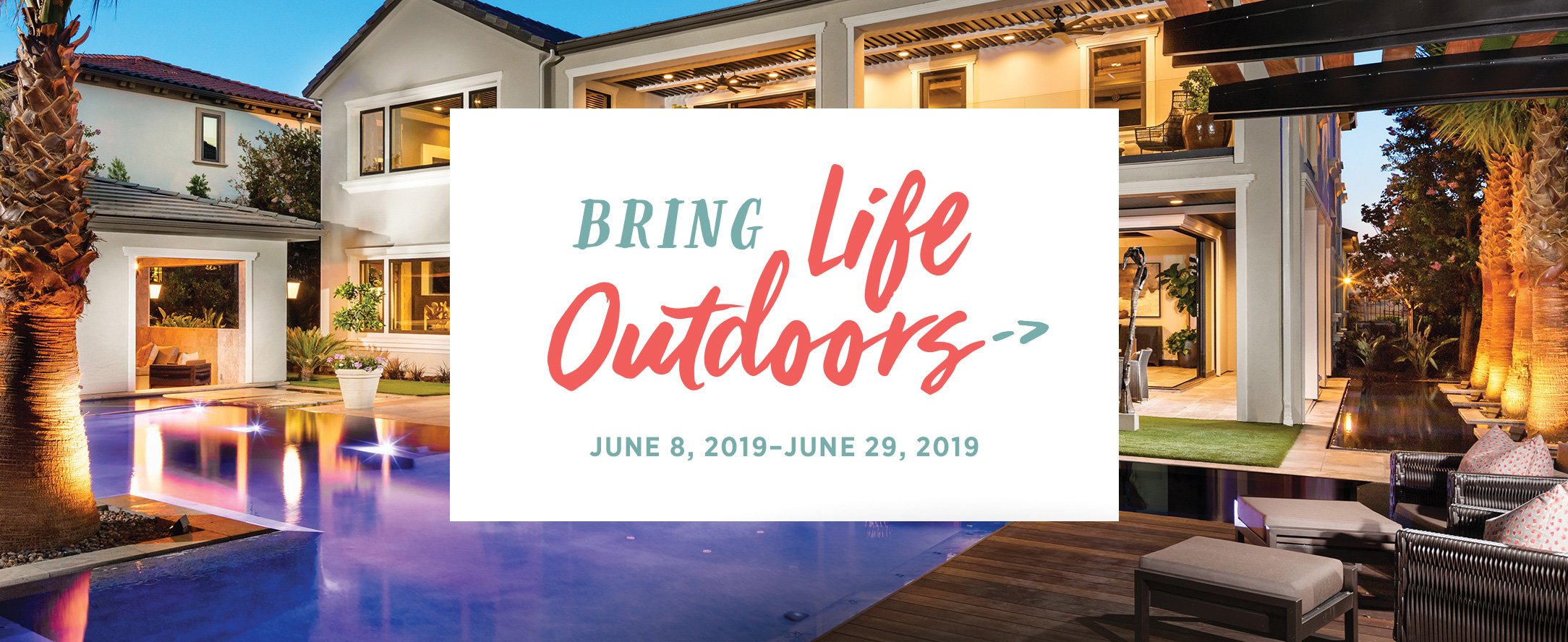 Nothern California Outdoor Oasis Event