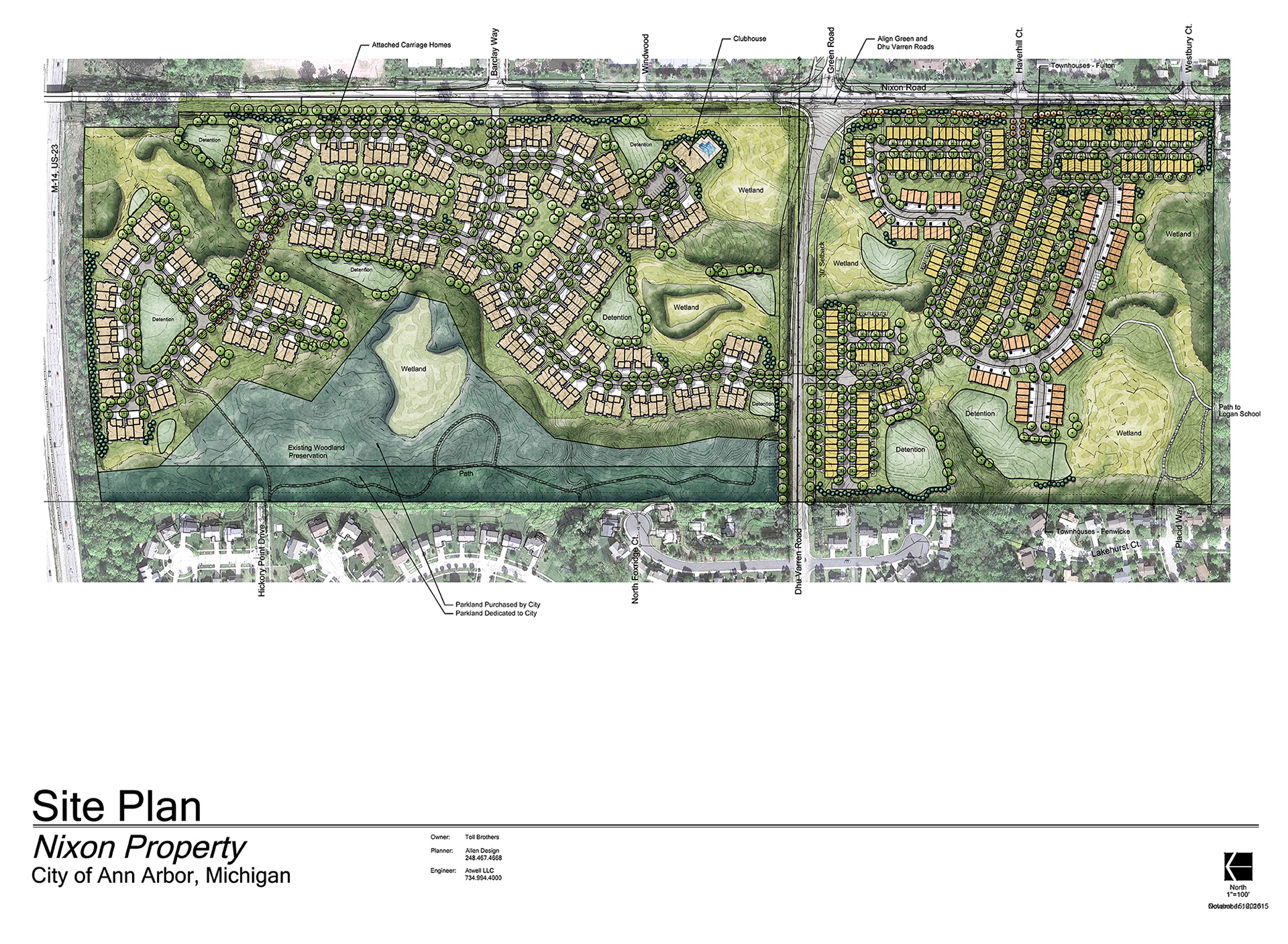 Our Approved Site Plan